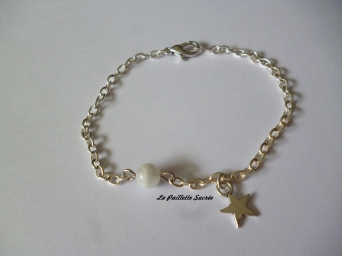Collection : Tout Simplement : Le Bracelet Pierre de Lune